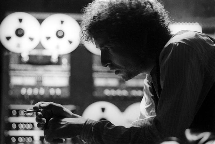 Bob Dylan records at S.I.R. studios in New York City before the kickoff of the Rolling Thunder Revue tour. MORRISONHOTEL GALLERY