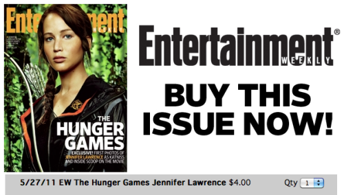 Did you miss your chance to buy our fabulous Hunger Games issue while it was on newsstands? Never fear—you can order a back issue online.