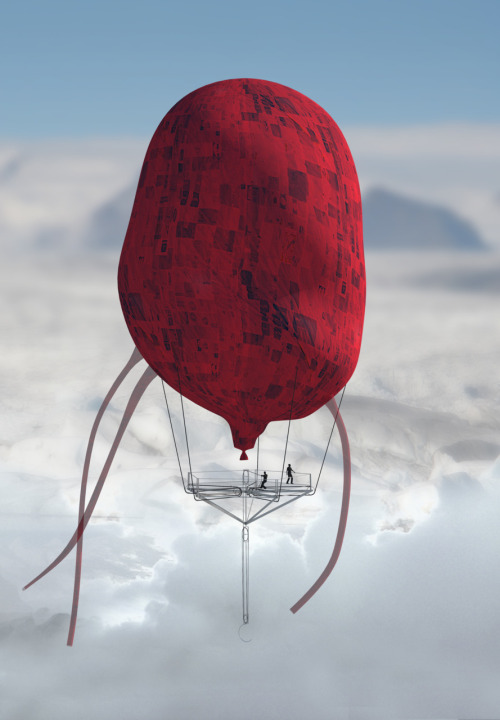 Soaring Geothermal Balloon by olivercooper