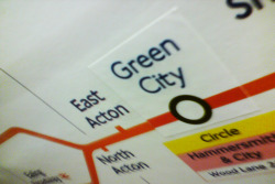 As the issues surrounding sustainability rise and rise, TFL have decided to jump on the bandwagon. After being awarded 2 million pounds for the complete refurbishment of White City station their cost breakdown was made public after much legal wrangling: £20,000 - Change of title deed £1.98 million - Associated administration costs 34p - Energy saving bulb