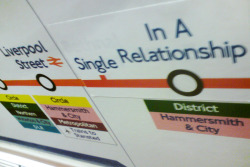 TFL have been introducing single stations to other tube lines which share similar timetables or operating hours ensuring that they have something in common hopefully igniting a spark…
