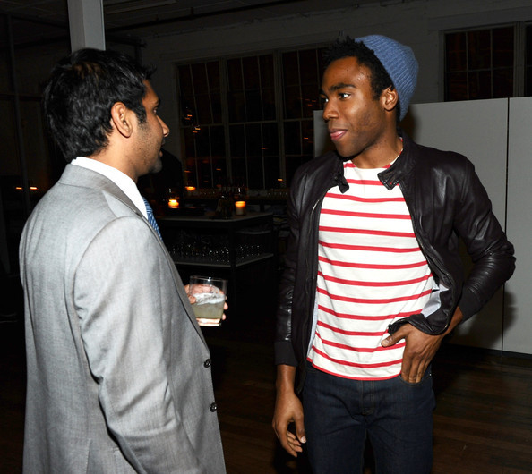 Aziz Ansari and Donald Glover