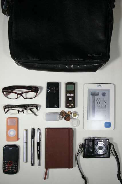 What's In My Bag (2011) on Flickr.