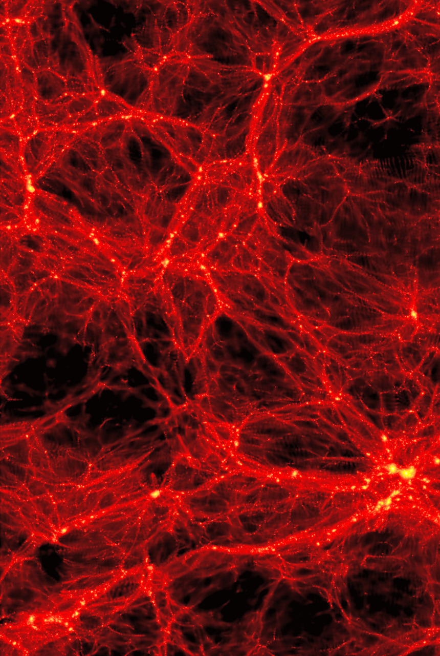 The large scale structure of galactic superclusters