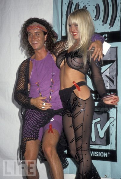 Pauly and Savannah 1991 MTV Music Awards