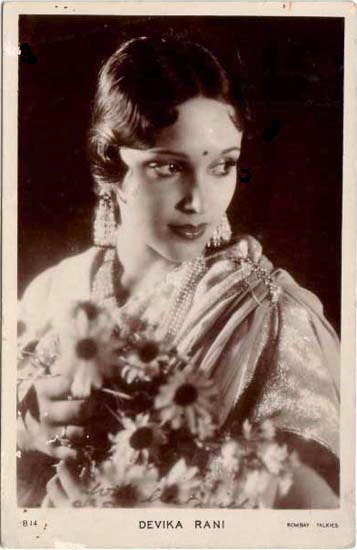 sydneyflapper:  Devika Rani, Bollywood actress of the late 20s into the 30s.
