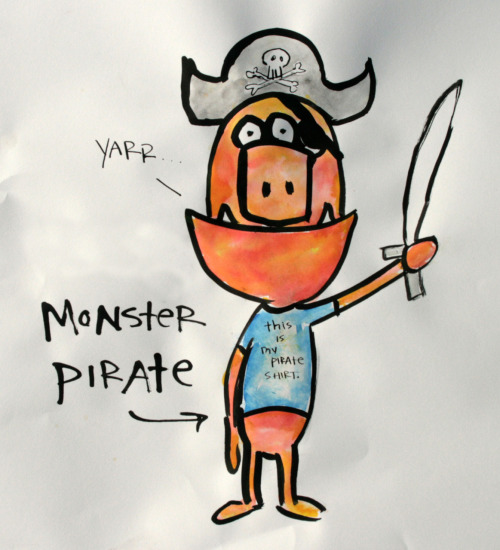 """monster pirate"""