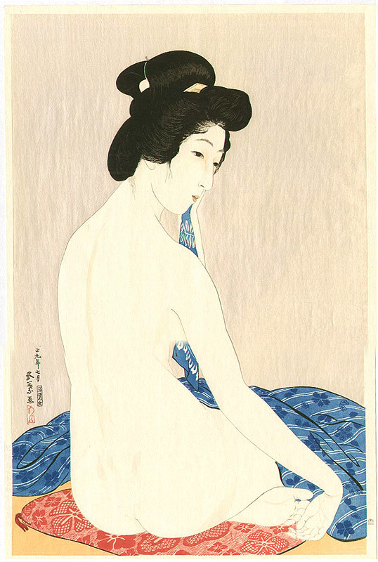 theantidote:  Woman after a Bath by Goyo Hashiguchi 1880-1921 (via yama-bato:)