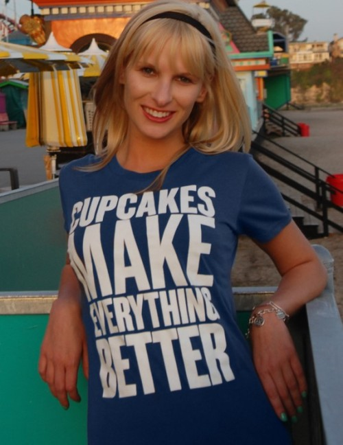 {Dressing on the Side Tees} The best {cupcake} tees around!