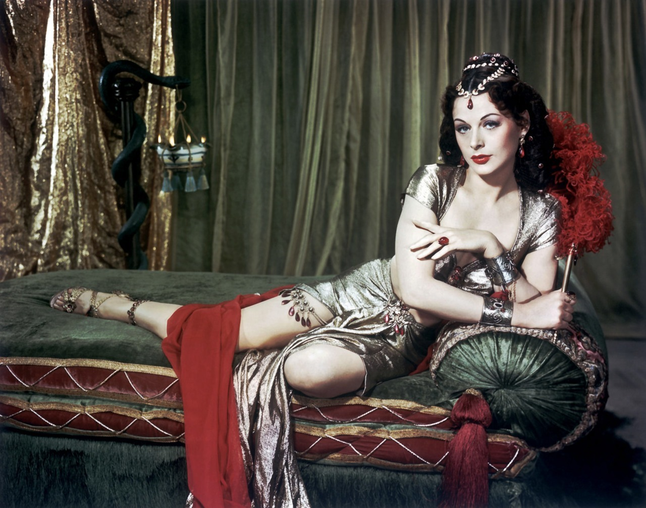 Samson and Delilah (1949) Hedy Lamarr as Delilah Designer: Edith Head