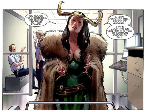 I'm going to cosplay Fem Loki in 2013. ;-)