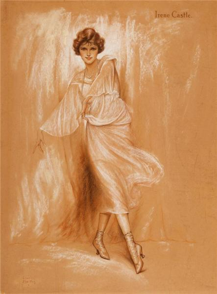 Irene Castle - by Charles Gates Sheldon (c. 1920s)