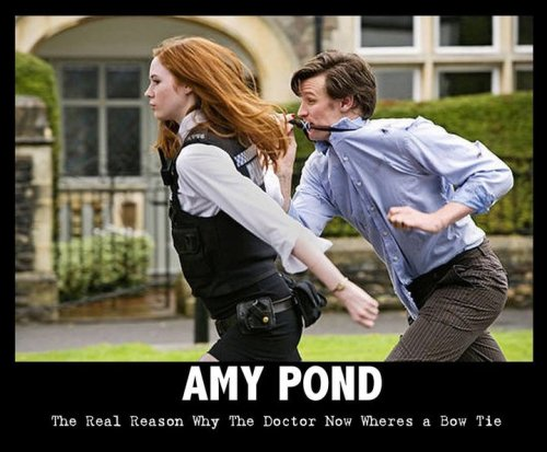 The real reason why The Doctor new wears a bow tie.
