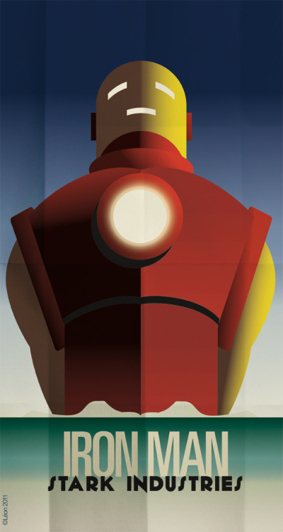 greg-leon:  Iron Man, Cassandre Spirit