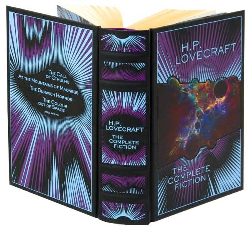 bibliofila:   H.P. Lovecraft: The Complete Fiction (Barnes & Noble Leatherbound Classics Series)