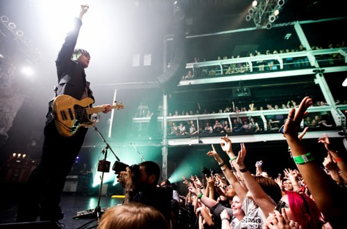 Dallon Weekes @Terminal 5,  New York *not sure who took this, but thank you :)