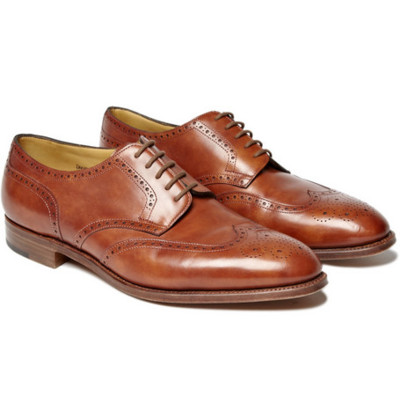 John Lobb Darby II Wingtip Brogues. Wear these with just about anything. That is, if you feel like spending the money on them.