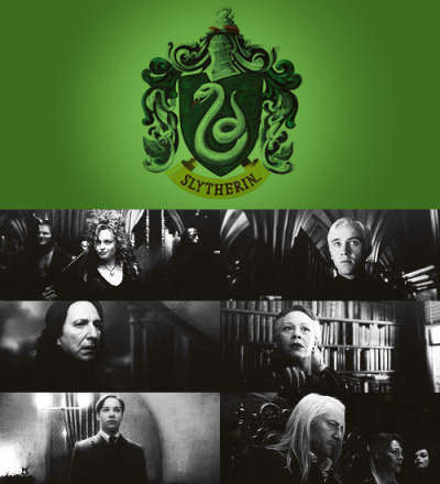 "thefirsthorcrux:  ""Or perhaps in Slytherin,You'll make your real friends,Those cunning folk use any means,To achieve their ends."""