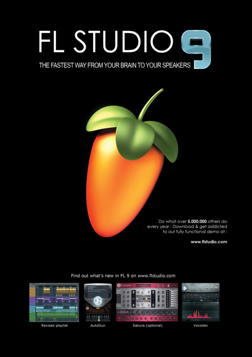 FL Studio 9 (Fruity Loops 9) - Download link »> http://bit.ly/jfa3hj
