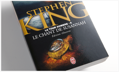 French latest edition of The Dark Tower VI: Song of Susannah by Stephen King.