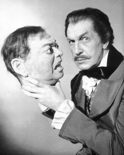 thefactory-:  Remembering Vincent Price. The famous American actor, specialized in horror movies, born 100 years ago today. [May 27, 1911 - October 25, 1993]