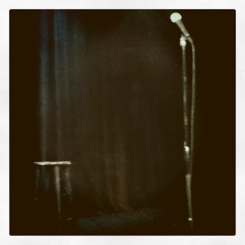 Our seats at the Improv for Russell Brand // Jan '11(Photo by Sara)
