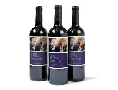 (via A CUP OF JO: Wine bottle labels) Party, wedding, birthday coming up? Here's a great way to add a smidgen of personalization!