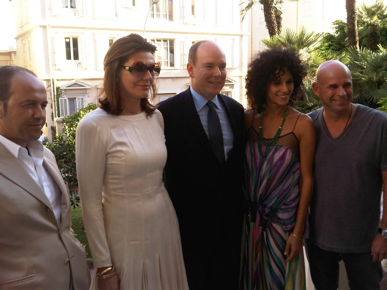 The beautiful launch of GAIA in Monaco with Prosper & Martine Assouline, Prince Albert, & Guy Laliberté.