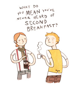 gingerhaze: Oh man those hipster hobbits. (hippets?)