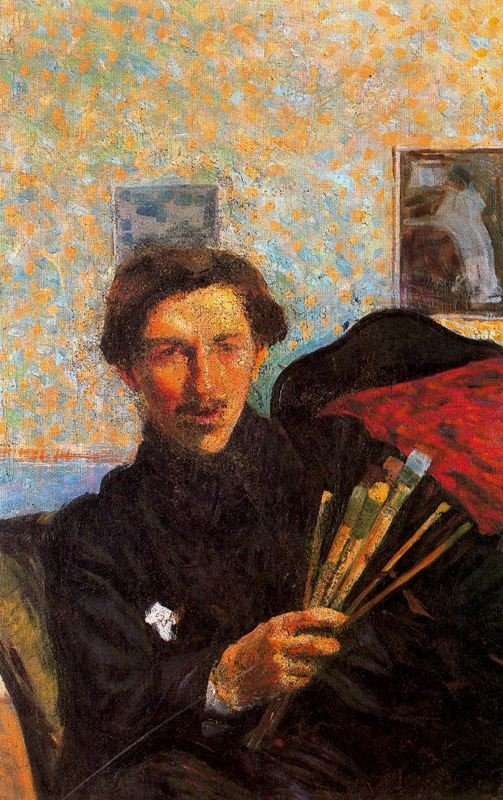 paperimages:  Umberto Boccioni  (1882-1916). Self-Portrait, 1905 - 06
