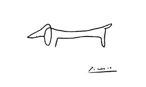 Daschund. Picasso.