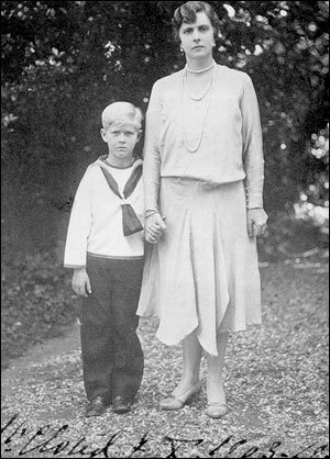 Prince Philip with his mother Princess Andrew of ...