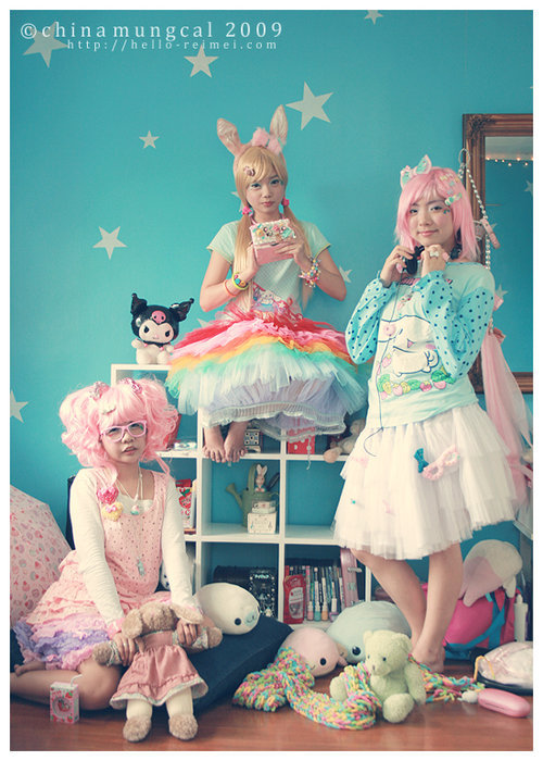 My favorite cute fashion, fairy kei. ^^