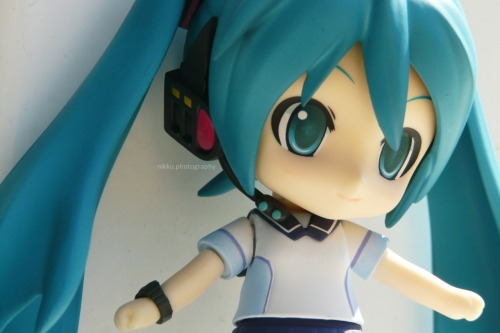 Just a pic from my photoshoot with Miku~IT WAS 103 FREAKIN DEGREES OUT. http://www.figure.fm/post/en/27749/Miku+Hatsune+Uniform+ver+Photoshoot.html