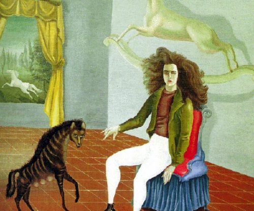 Leonora Carrington, Surrealist, Dies at 94 - Surrealism, Alchemy, and Art.  Self portrait 1936