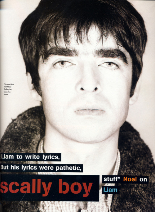 The Face Magazine: November, 1995.