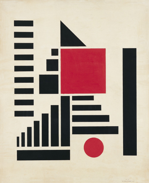 planetaryfolklore:  rhapsodical: Composition in Red, Black, & White, Henryk Berlewi. 1924