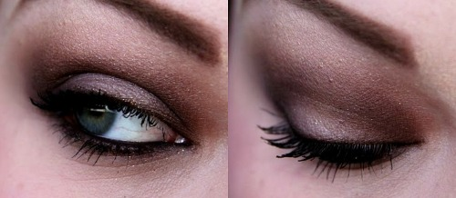 lizzybaegotballs:  Makeup Look Using MAC Brown Eyeshadows