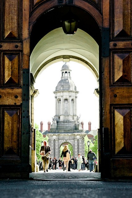 Trinity College is beautiful.