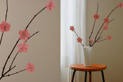 DIY Cherry Blossoms (by bkids).