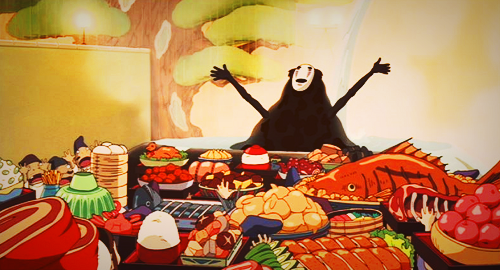 dietpoliogarithm:  ghibli-magic:  FUCK THE DIET      Be free!!