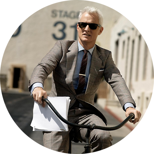 John Slattery by Nathaniel Goldberg
