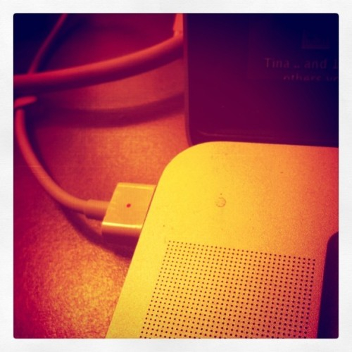 Laptop power (Taken with instagram)