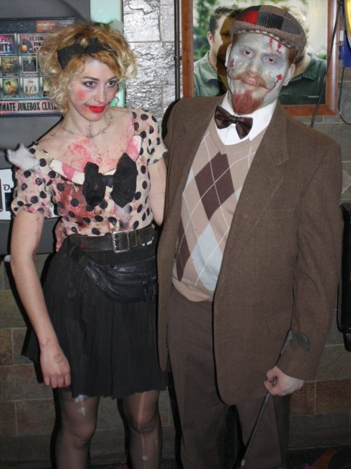 Pic 3 of 3 of me at a Zombie Pub Crawl where I live, May 14, 2011.
