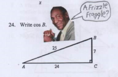 Cosby is always relevant to trigonometry.