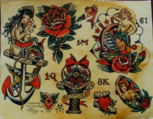 terror-xo:  Sailor Jerry  Old Iron Sides!