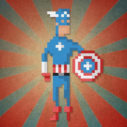 "thelastmonkey:  ""The first Avenger"""