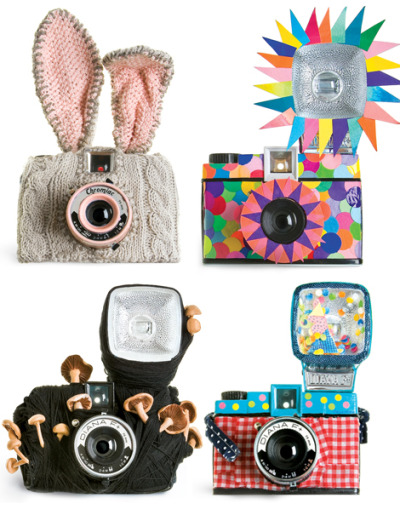 Decorated Diana Cameras :>