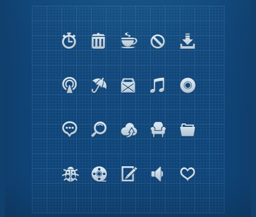 50 free and high quality icon sets  by Aquil Akhter