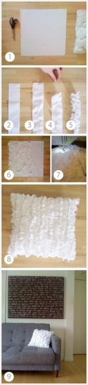 jezelle89:  DIY Ruffled Pillowcase!